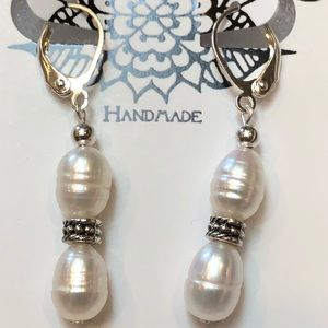 Casey Keith Design Jewelry - Responsible Freshwater Pearl Earrings